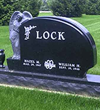 cemetery markers